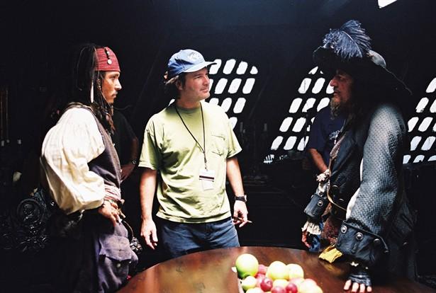 Geoffrey Rush,Johnny Depp