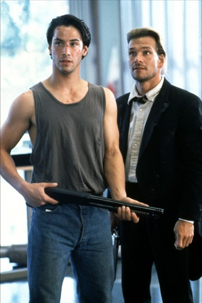 Keanu Reeves,Patrick Swayze