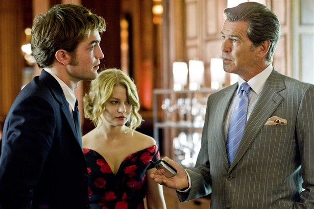 Emilie de Ravin,Pierce Brosnan,Robert Pattinson