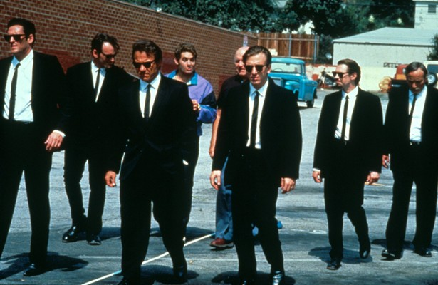 Harvey Keitel,Michael Madsen,Quentin Tarantino,Steve Buscemi,Tim Roth