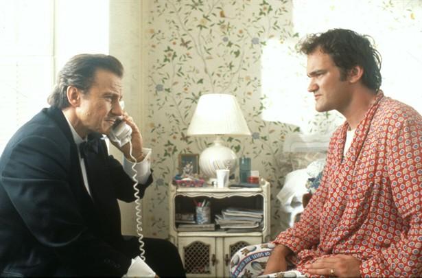Harvey Keitel,Quentin Tarantino