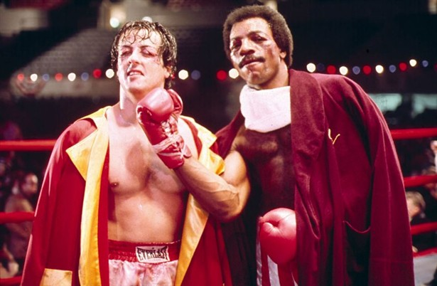 Carl Weathers,Sylvester Stallone