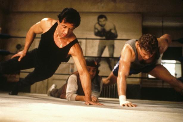 Sylvester Stallone,Tommy Morrison