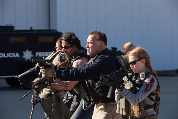 Arnold Schwarzenegger,Joe Manganiello,Mireille Enos