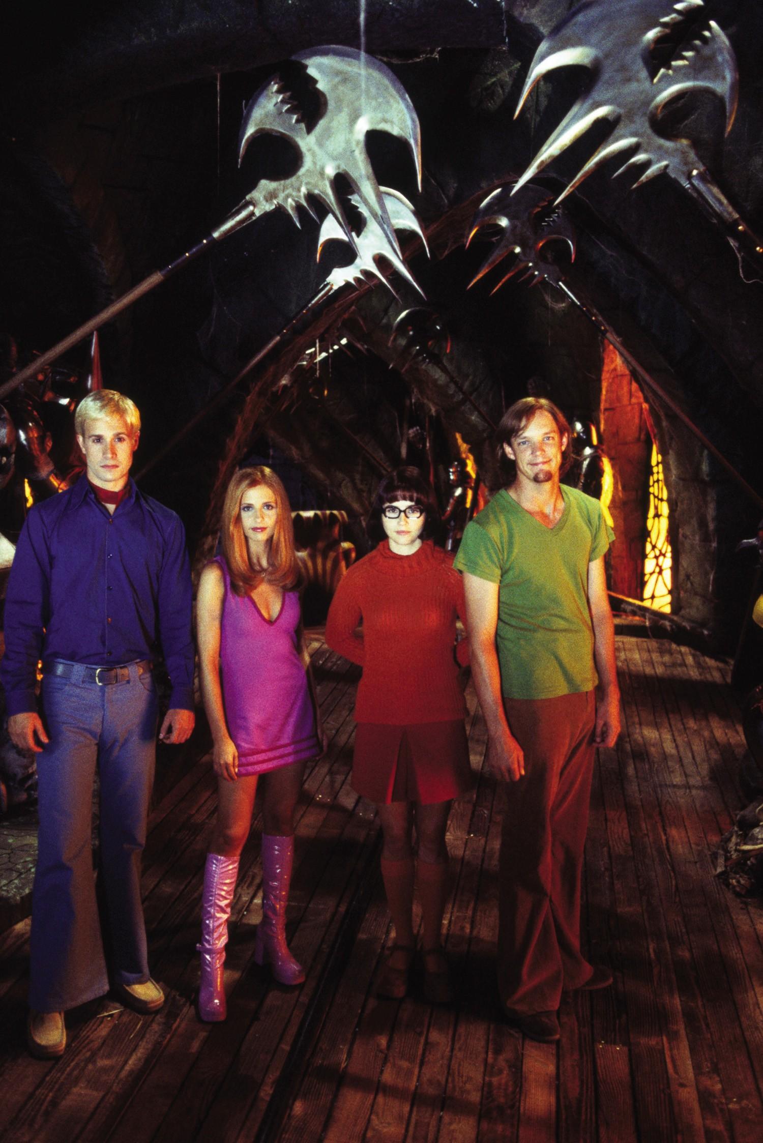 Freddie Prinze Jr.,Linda Cardellini,Matthew Lillard,Sarah Michelle Gellar