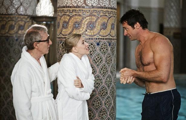 Hugh Jackman,Scarlett Johansson,Woody Allen