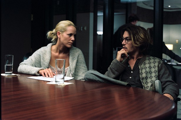 Johnny Depp,Maria Bello