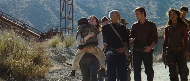 Adam Baldwin,Gina Torres,Jewel Staite,Nathan Fillion,Ron Glass