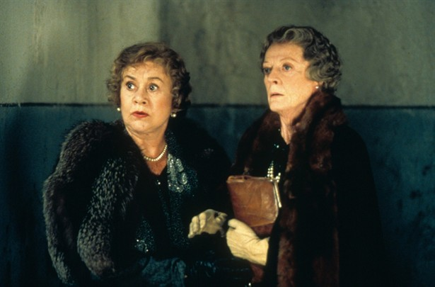 Joan Plowright,Maggie Smith