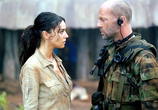 Bruce Willis,Monica Bellucci