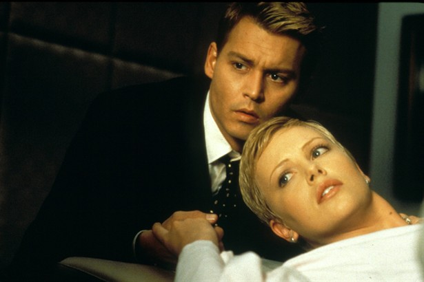 Charlize Theron,Johnny Depp