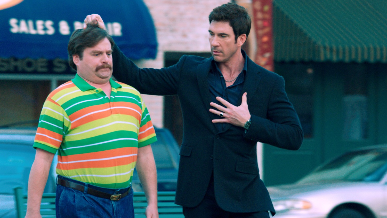 Dylan McDermott,Zach Galifianakis