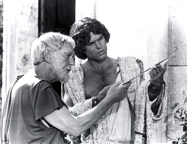 Burgess Meredith,Harry Hamlin