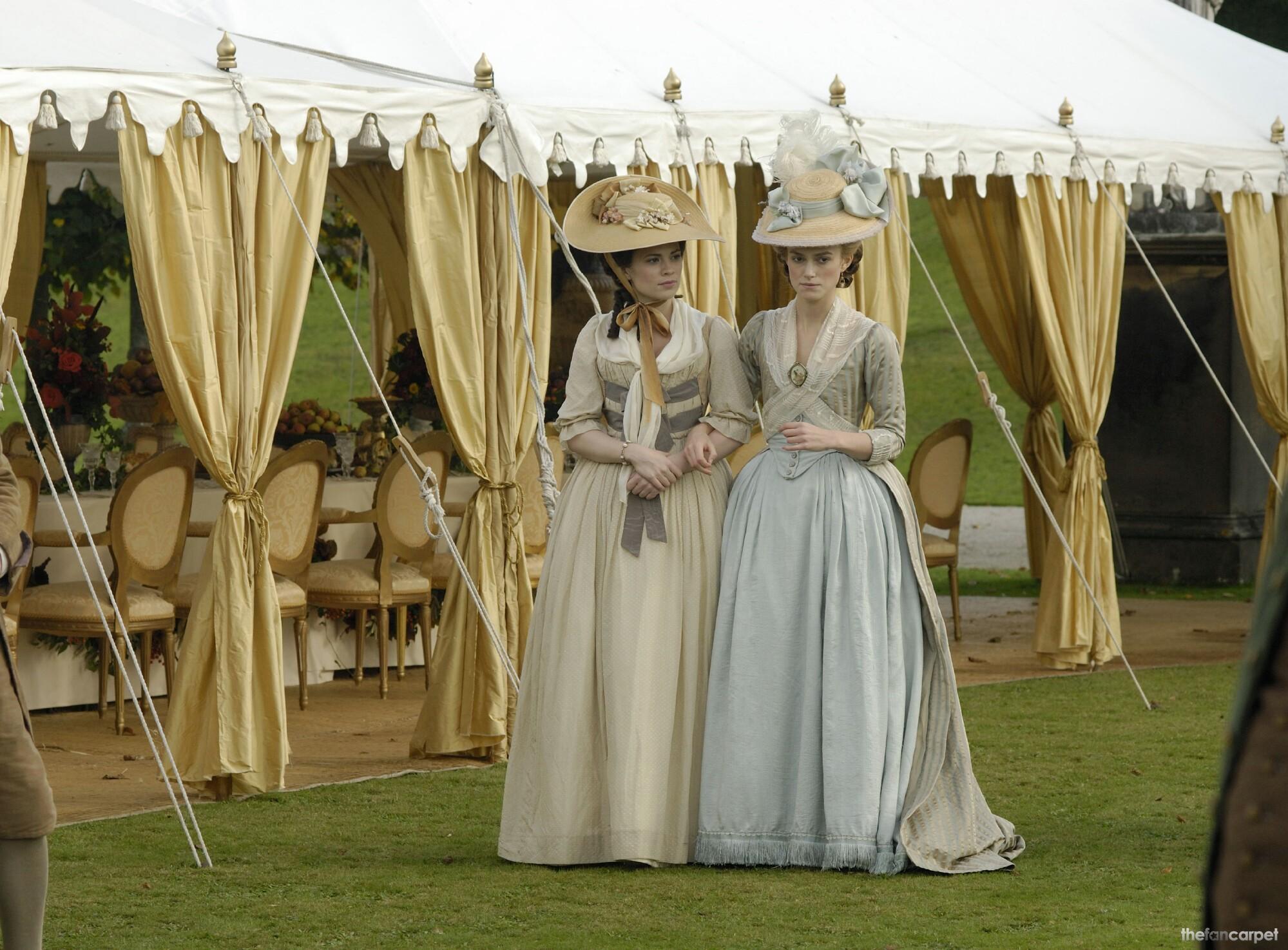 Keira Knightley,Hayley Atwell