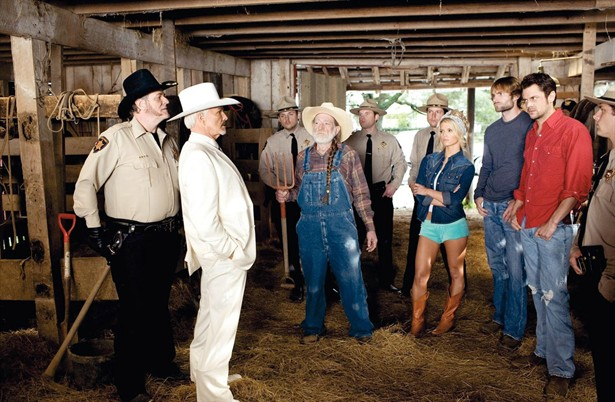 Burt Reynolds,Jessica Simpson,Johnny Knoxville,Seann William Scott