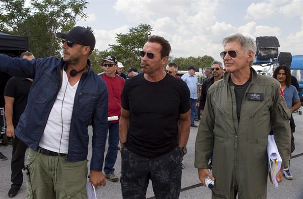 Arnold Schwarzenegger,Harrison Ford