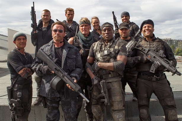Antonio Banderas,Arnold Schwarzenegger,Dolph Lundgren,Jason Statham,Jet Li,Kellan Lutz,Sylvester Stallone,Wesley Snipes