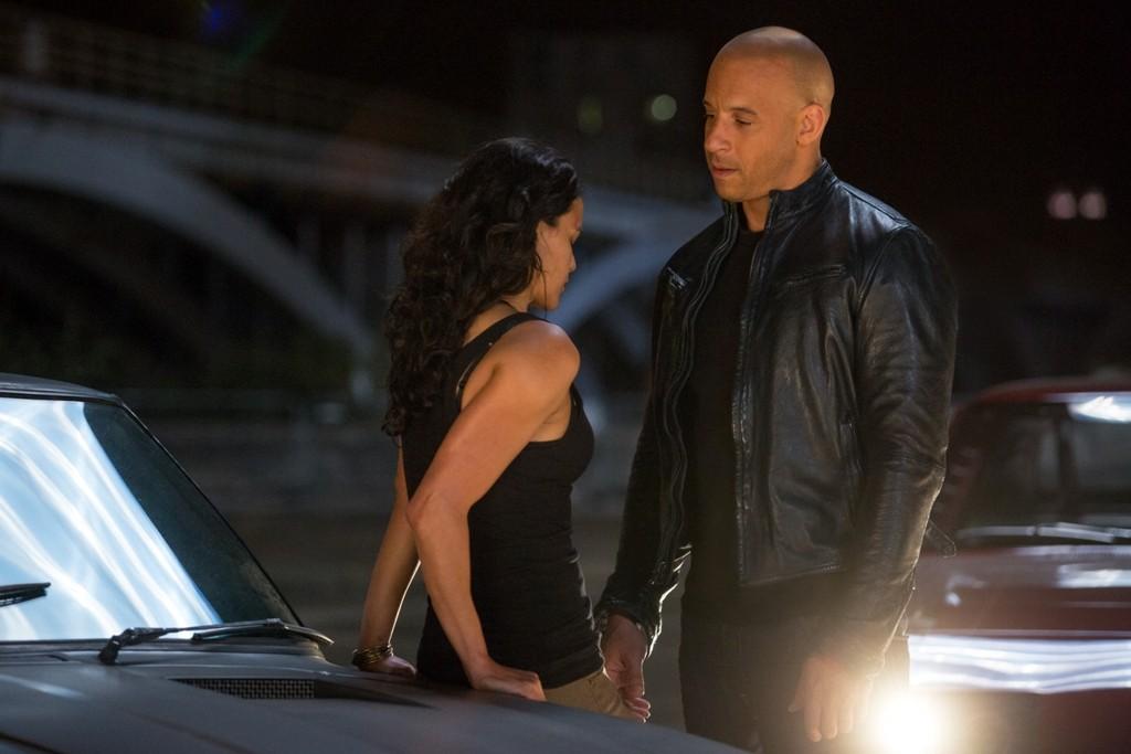 Michelle Rodriguez,Vin Diesel
