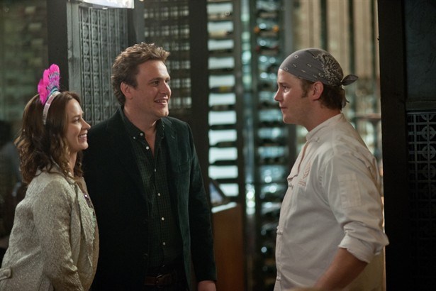 Chris Pratt,Emily Blunt,Jason Segel