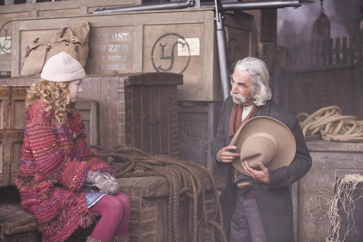 Dakota Blue Richards,Sam Elliott