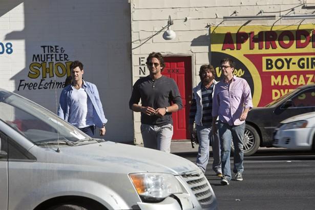 Bradley Cooper,Ed Helms,Justin Bartha,Zach Galifianakis