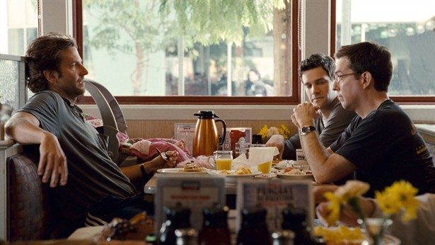 Bradley Cooper,Ed Helms,Justin Bartha