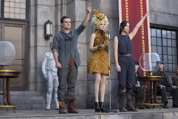 Elizabeth Banks,Jennifer Lawrence,Josh Hutcherson