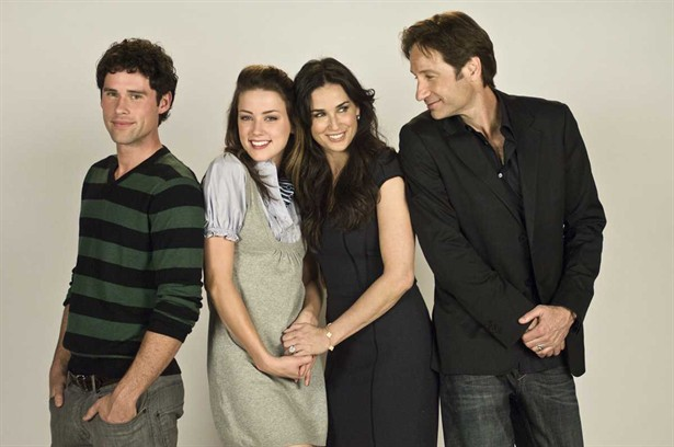 Amber Heard,Ben Hollingsworth,David Duchovny,Demi Moore