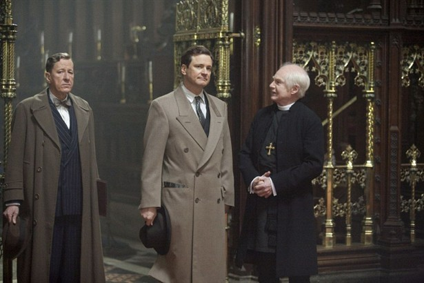 Colin Firth,Derek Jacobi,Geoffrey Rush