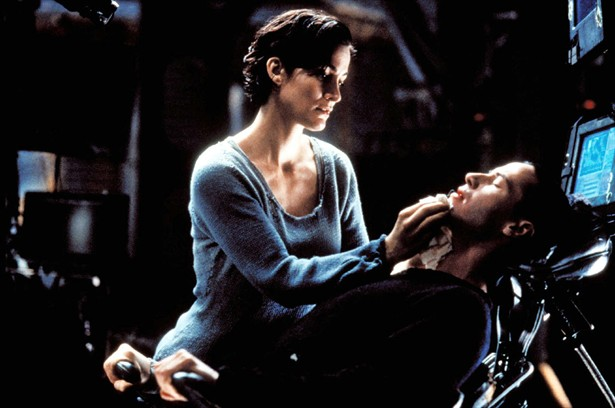 Carrie-Anne Moss,Keanu Reeves