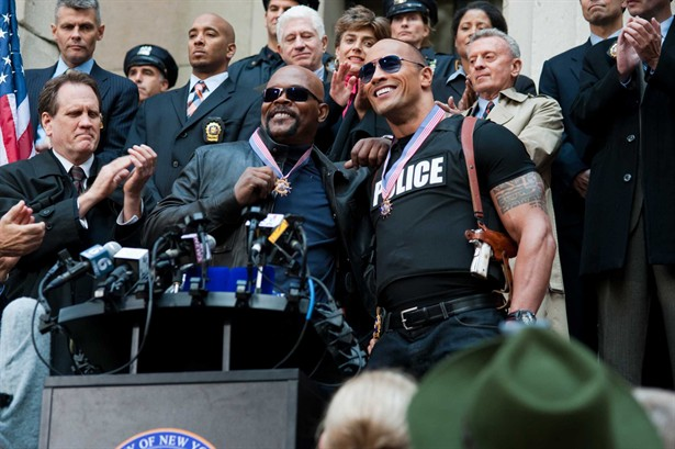 "Dwayne ""The Rock"" Johnson,Samuel L. Jackson"