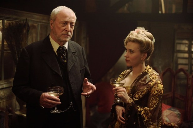 Michael Caine,Scarlett Johansson