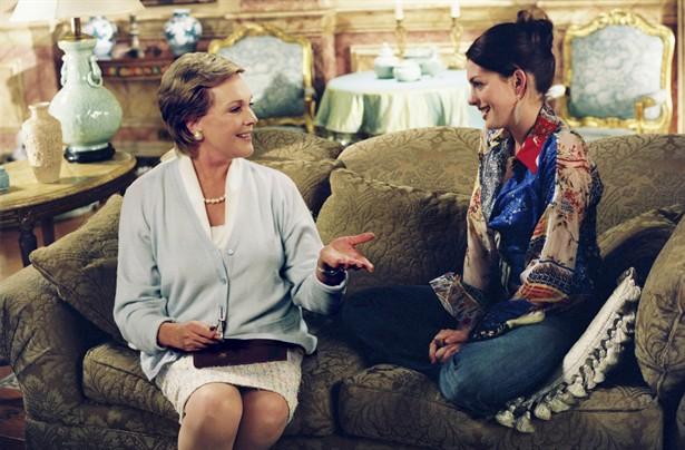 Anne Hathaway,Julie Andrews