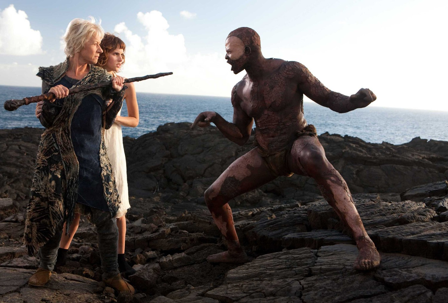Djimon Hounsou,Felicity Jones,Helen Mirren