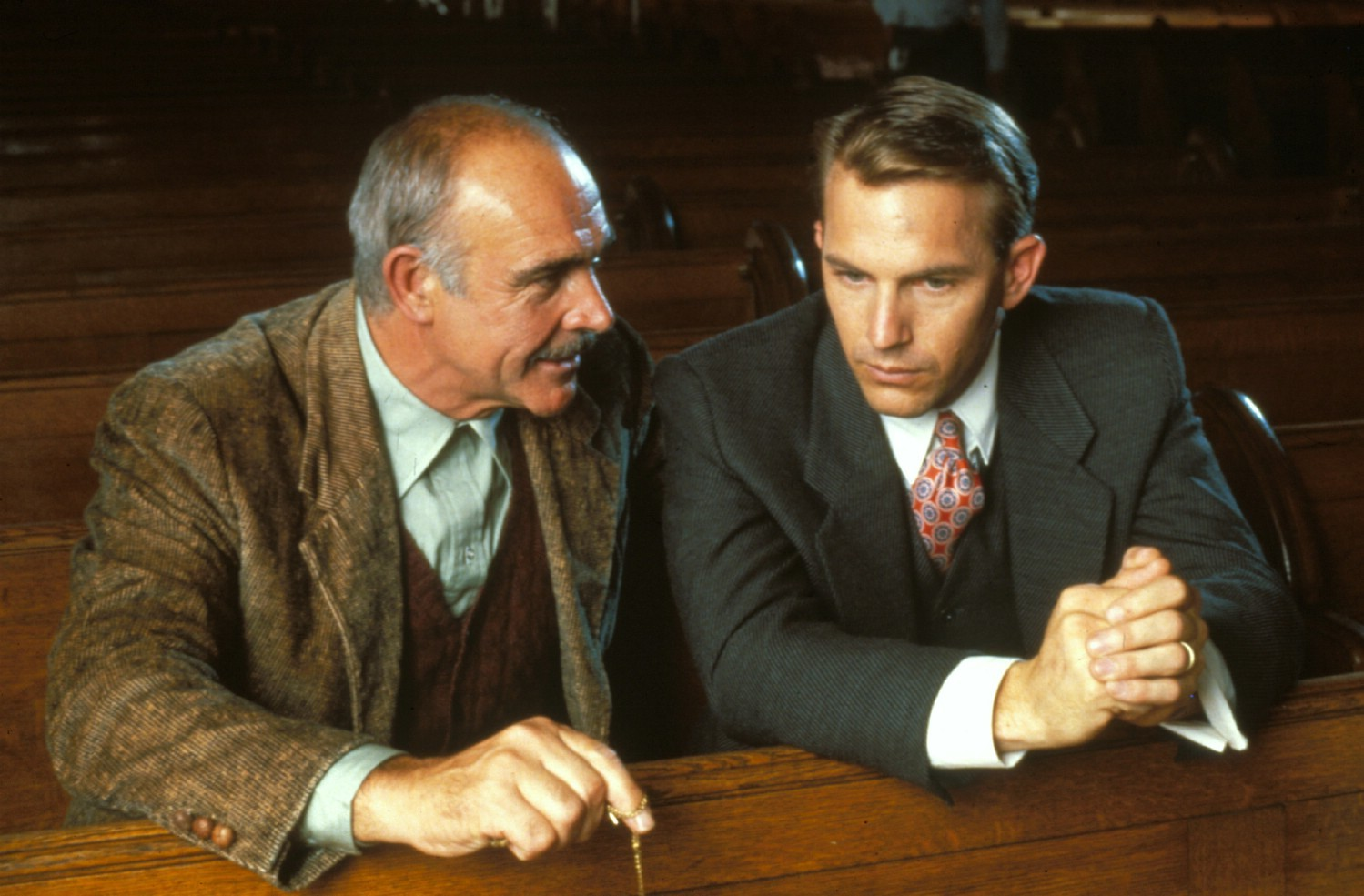 Kevin Costner,Sean Connery