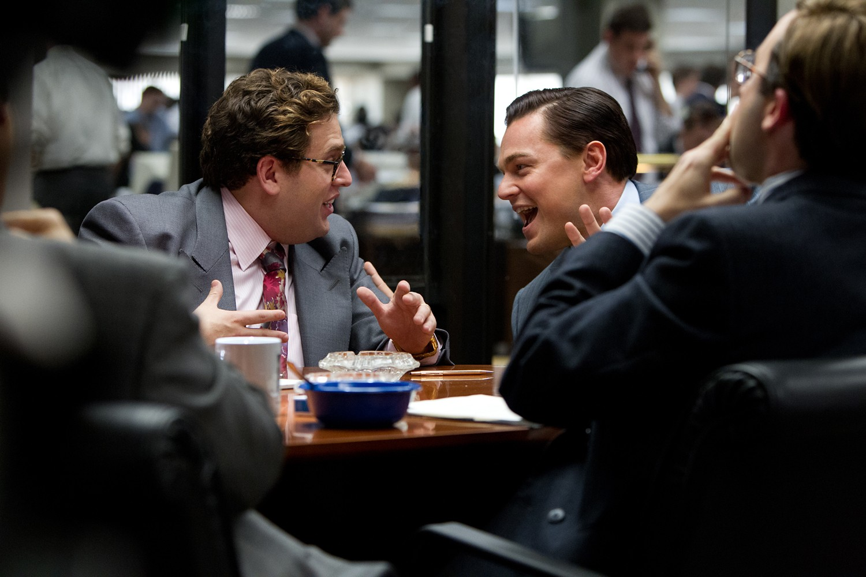 Jonah Hill,Leonardo DiCaprio