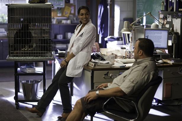 Kevin James,Rosario Dawson