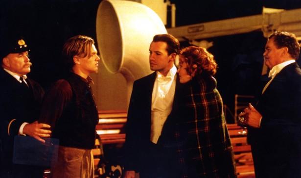 Billy Zane,Kate Winslet,Leonardo DiCaprio