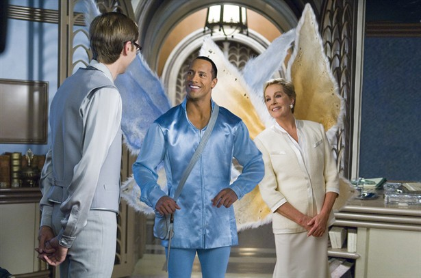 Dwayne Johnson, Julie Andrews