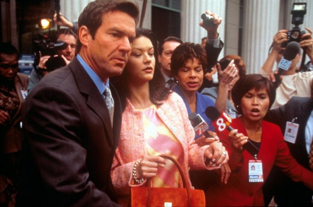 Catherine Zeta-Jones,Dennis Quaid