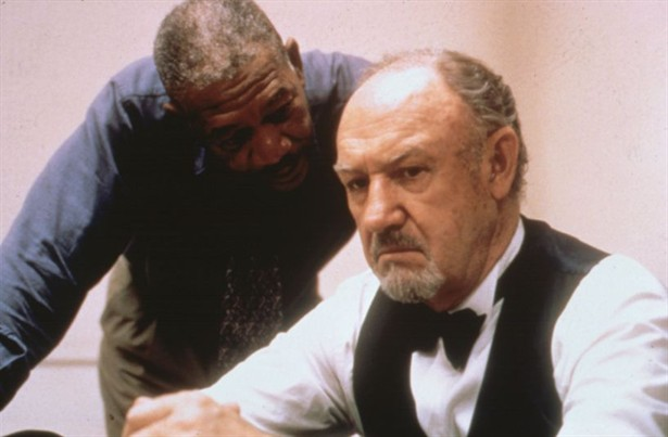 Gene Hackman,Morgan Freeman