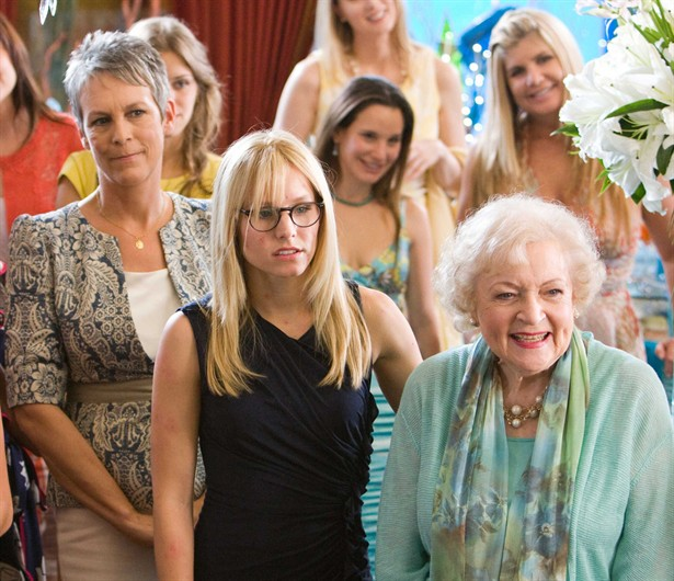 Betty White,Jamie Lee Curtis,Kristen Bell