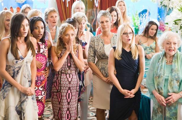 Betty White,Jamie Lee Curtis,Kristen Bell,Kristin Chenoweth,Odette Yustman
