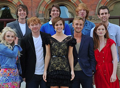 Harry Potter Camera Crew : Emma watson rupert grint tom felton and the cast and crew talk
