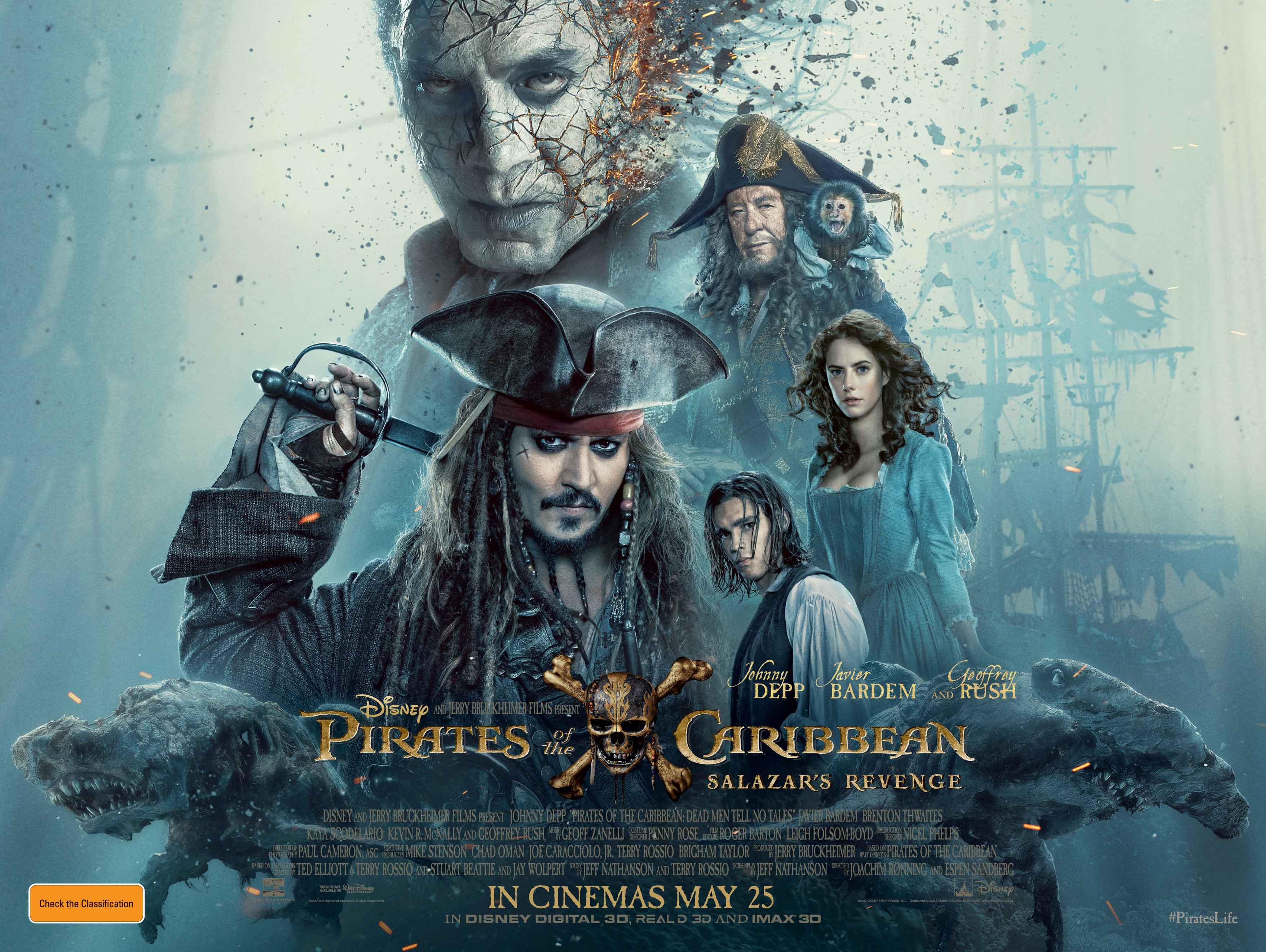 Pirates Of The Caribbean Salazar