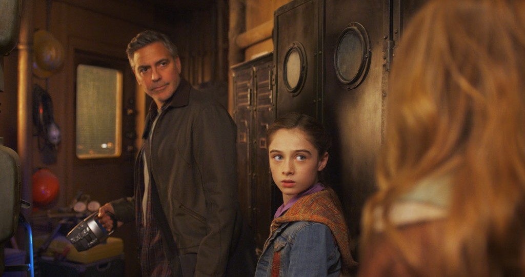 Raffey Cassidy, George Clooney