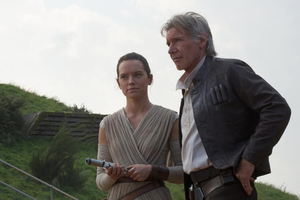 Daisy Ridley, Harrison Ford
