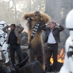 Harrison Ford, Peter Mayhew, John Boyega