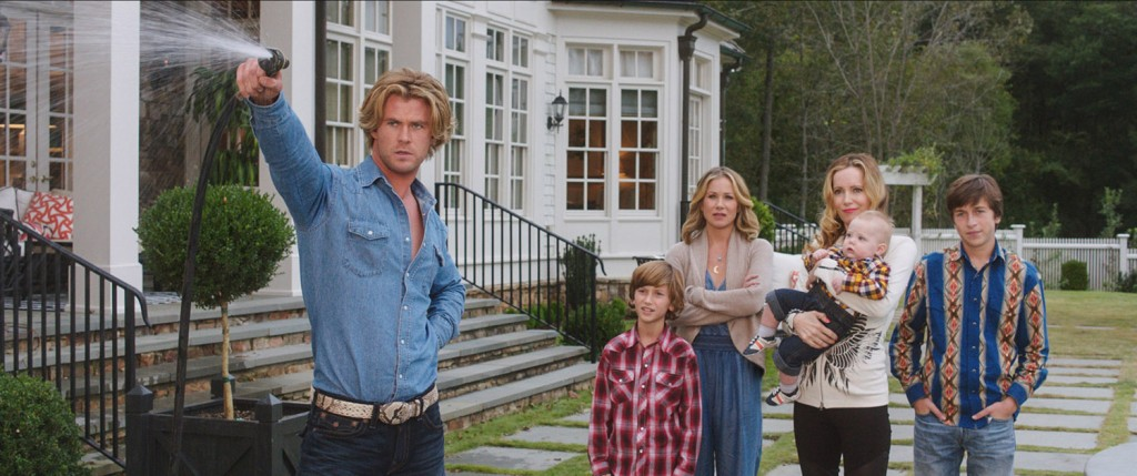 Christina Applegate, Leslie Mann, Chris Hemsworth
