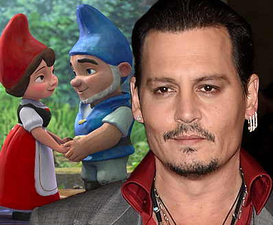 johnny depp set to voice sherlock gnomes in gnomeo